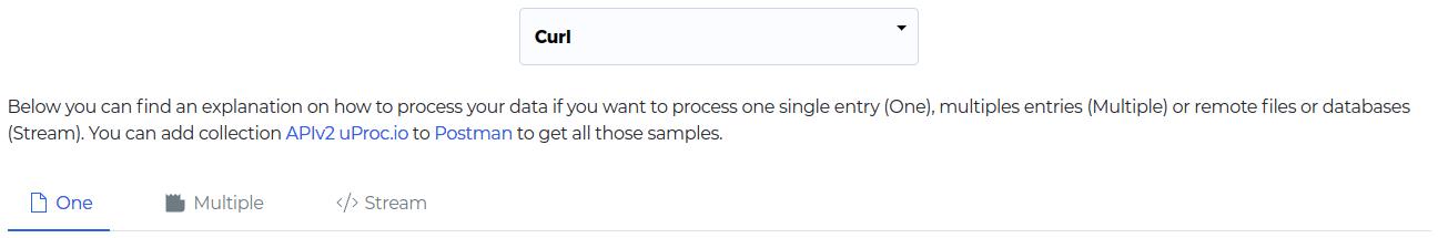 Selecciona el método de la API que te interesa