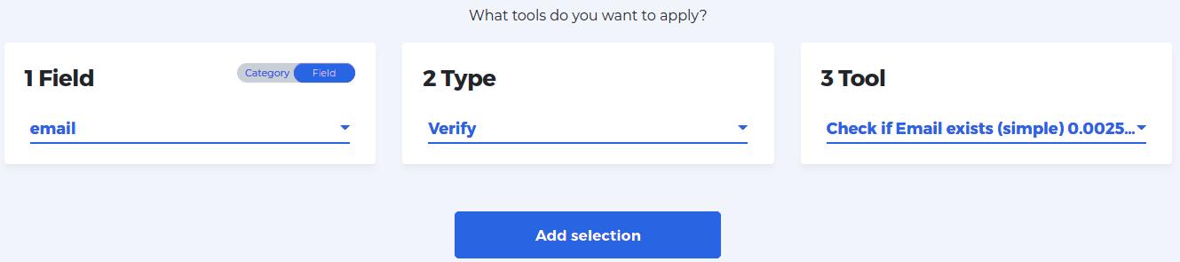 Define las opciones de tu trabajo