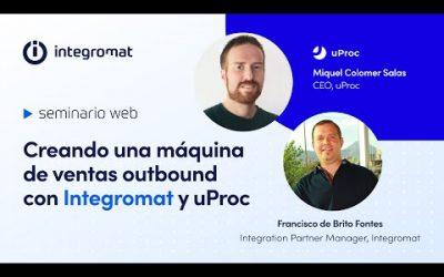 Creando una máquina de ventas outbound con Integromat y uProc